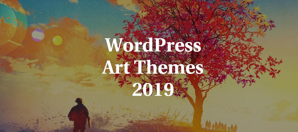 WordPress News: WordPress Art Themes 2019