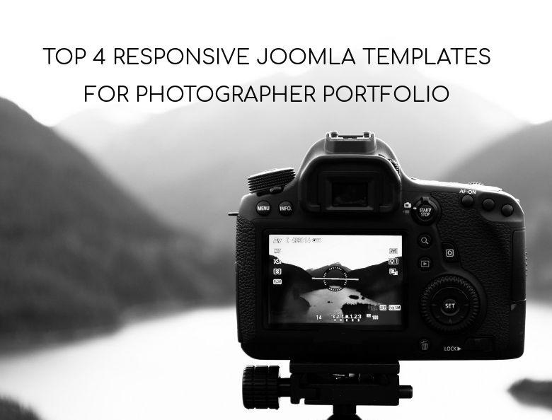 Joomla News: Top 4 Responsive Joomla Templates For Photographer Portfolio