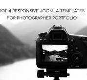 Joomla News: Top 4 Responsive Joomla Templates For Photographer Portfolio