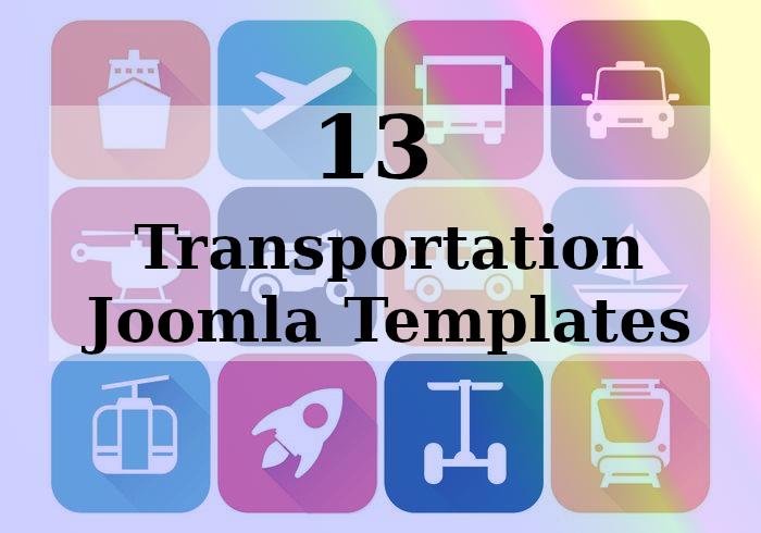 Joomla News: 13 Transportation Joomla Templates