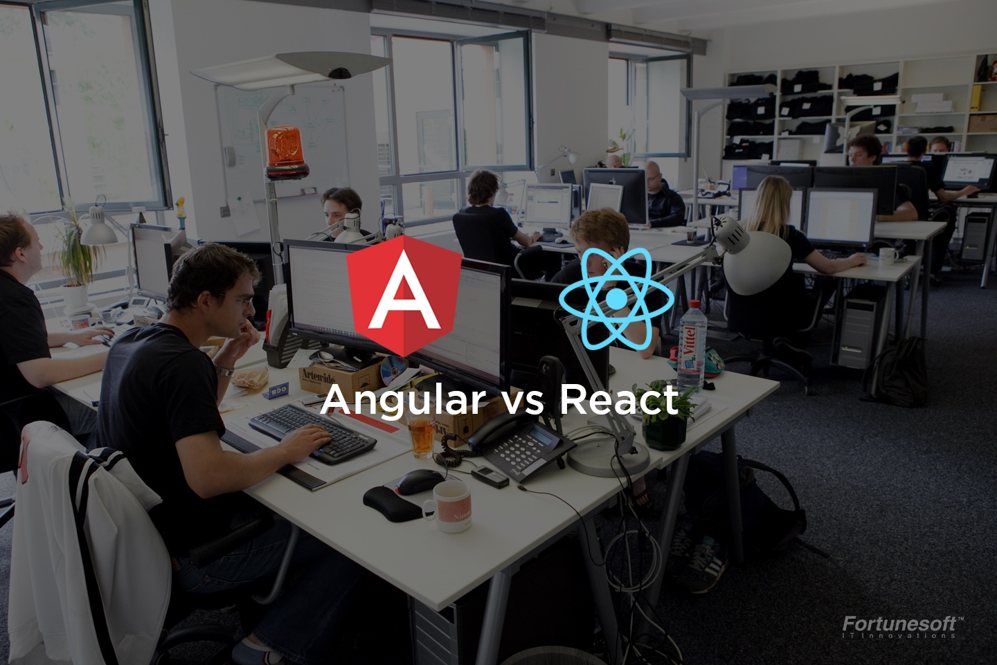 Array News: Angular vs React : Which is better ?