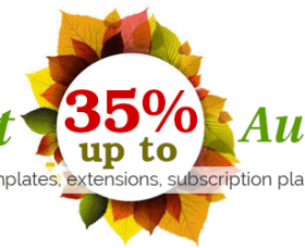 Joomla News: Meet Autumn with OrdaSoft sale !