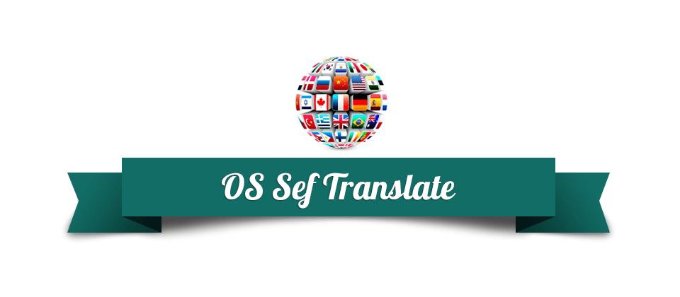 Joomla News: New version of SEF Translate - software for automatic website translation