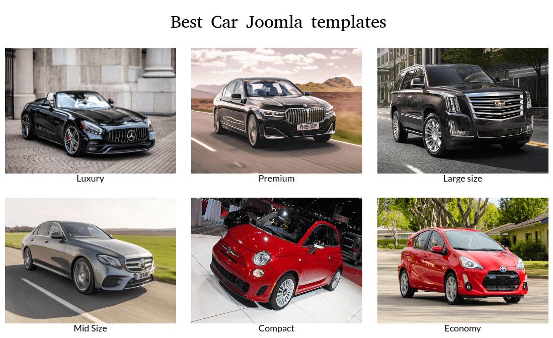 Joomla News: Best Car Joomla Templates