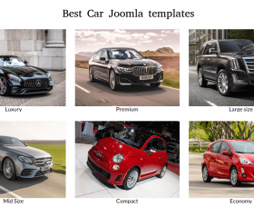 Joomla News: Best Car Joomla Templates