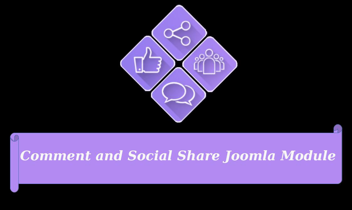 Joomla News: Meet New version of Joomla Social Comment and Sharing - Social Share Joomla Module