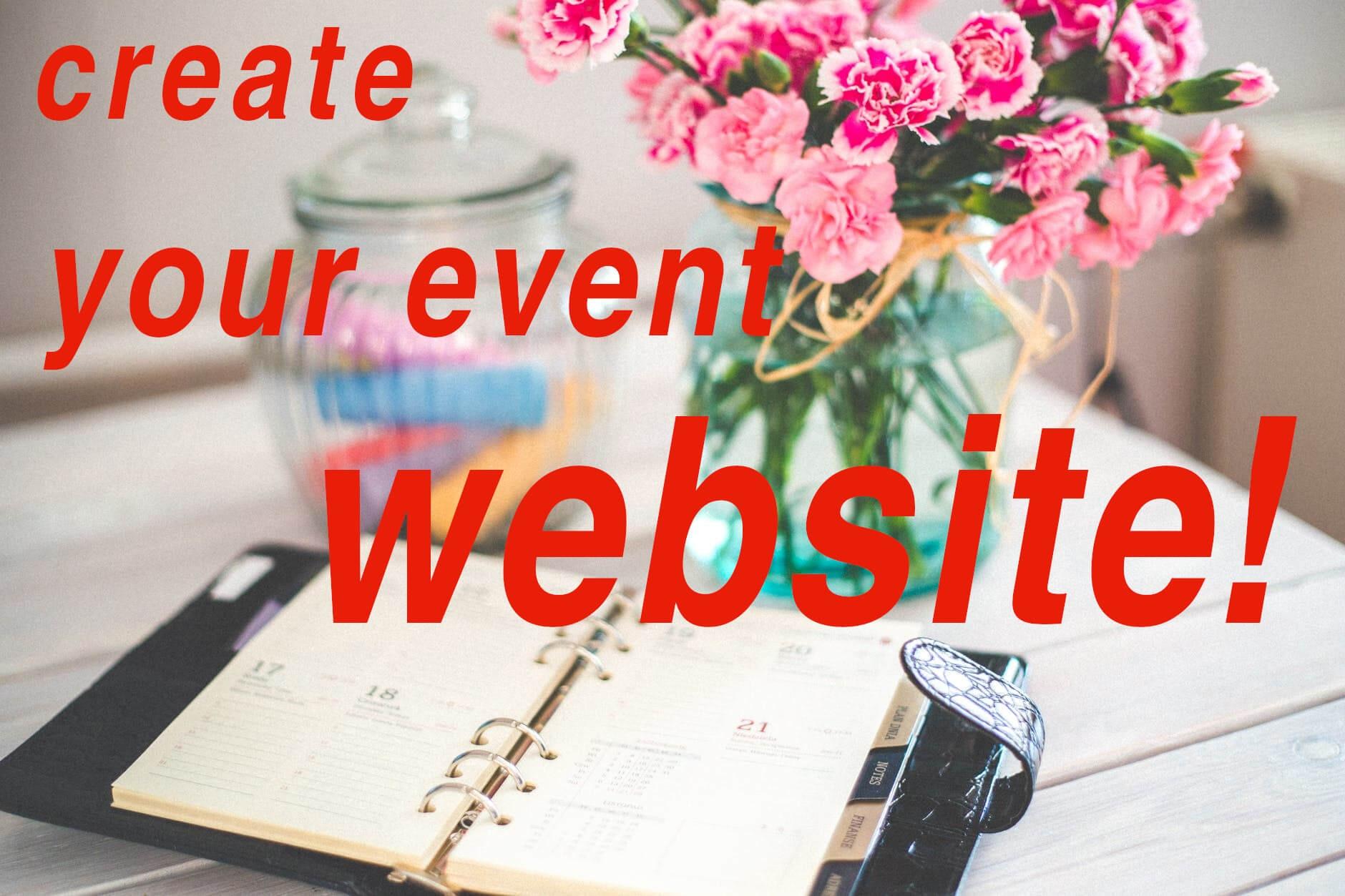 Joomla News: Create event website