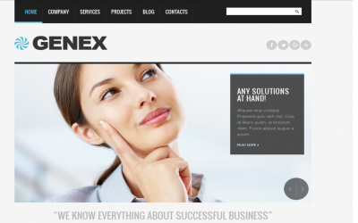 Consulting company - business theme Drupal