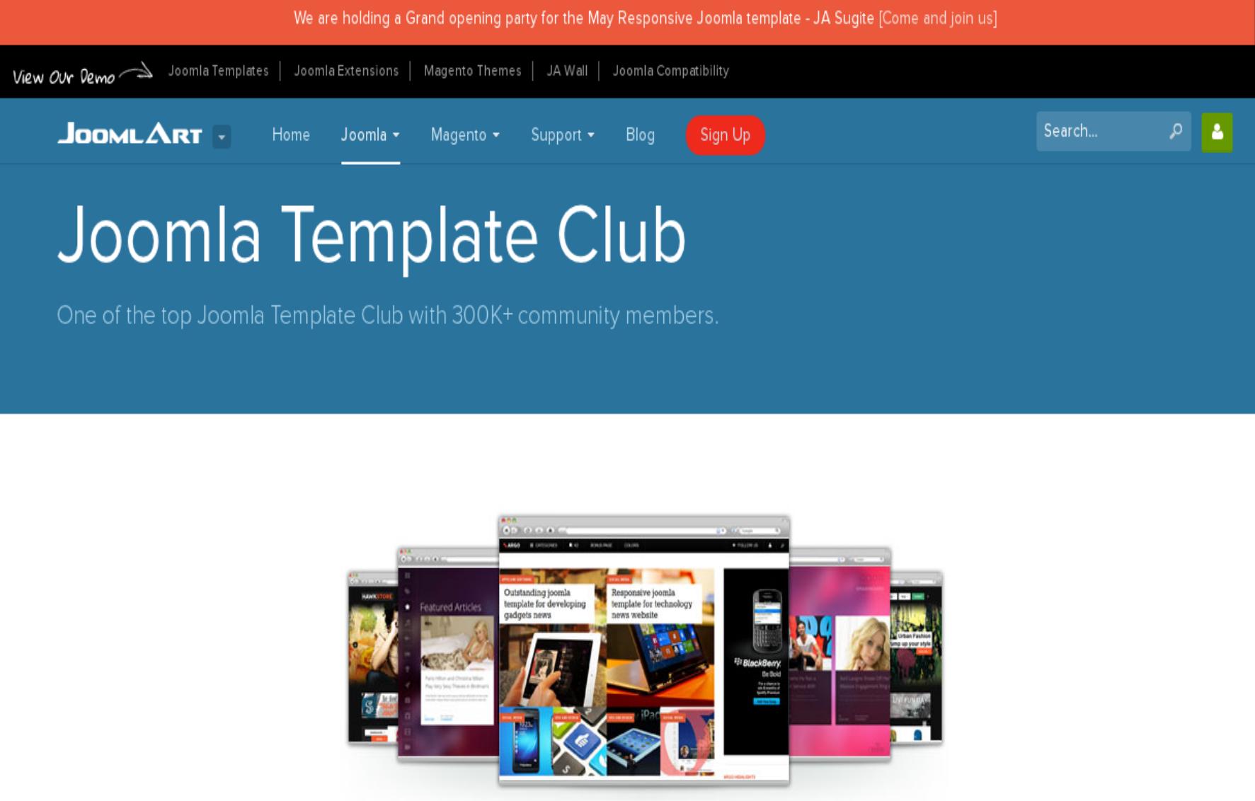 10 Best Joomla Template Clubs Joomla News Admin1