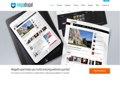 Megadrupal Drupal themes club - only best Drupal themes