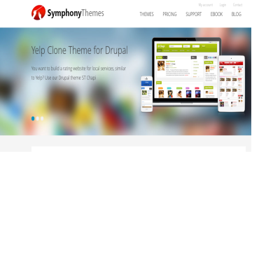 SymphonyThemes Drupal themes club - download drupal themes faster