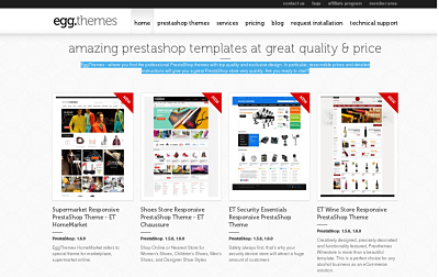 EggThemes Pretashop Theme Club