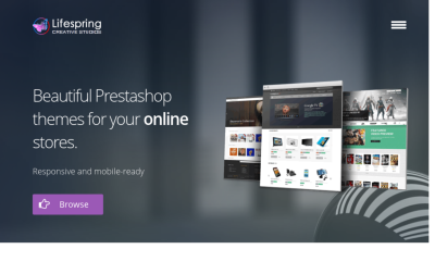 Life spring Creative Studios Pretashop Theme Club - Free Membership Plan and free pretashop themes