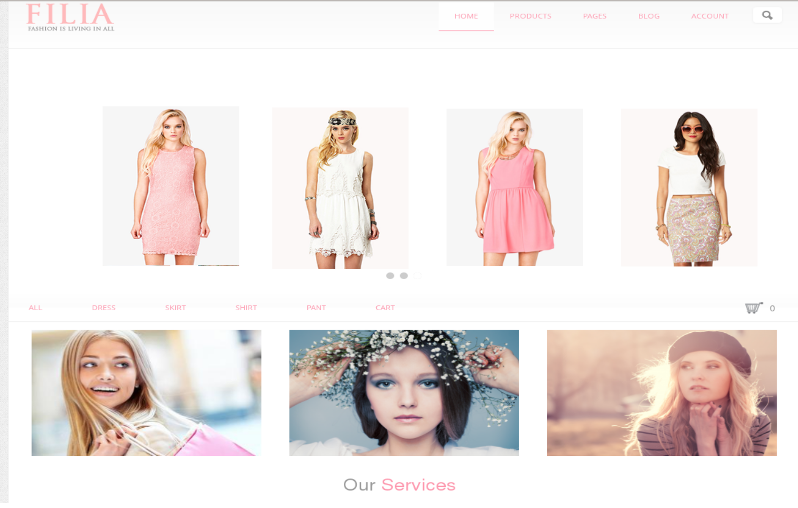 FILIA - amazing Drupal ecommerce theme