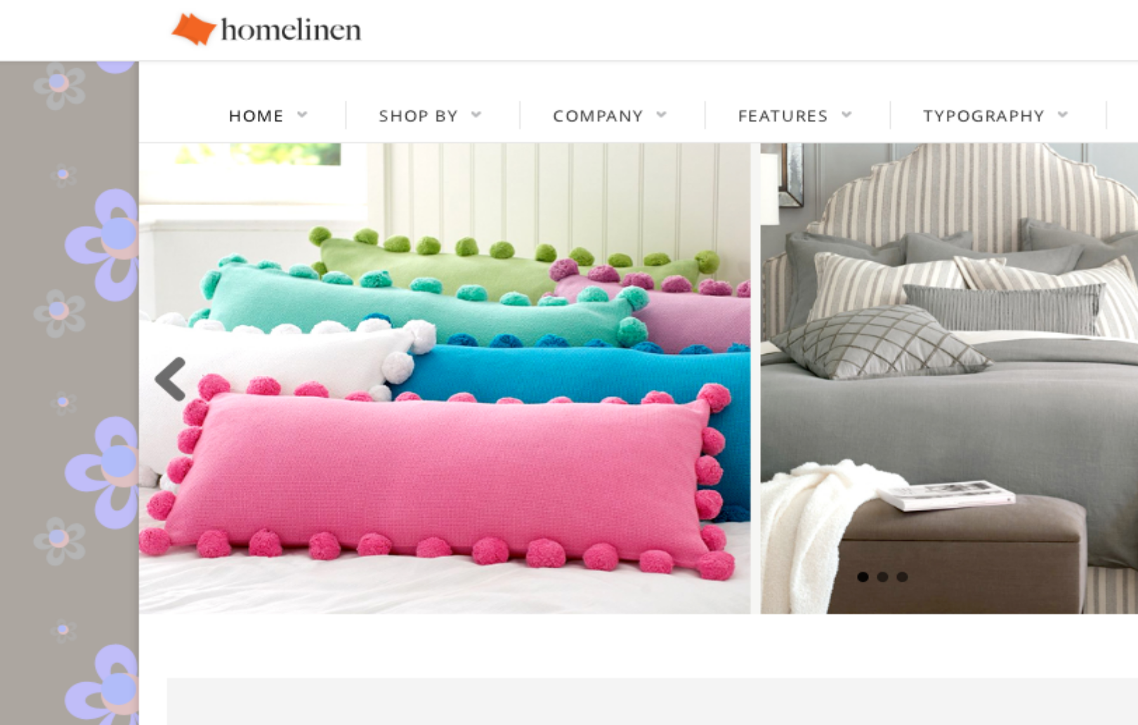 Home linen - perfect Drupal ecommerce theme