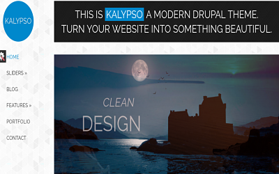 Kalypso best creative Drupal theme