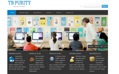 TB Purity best free drupal theme