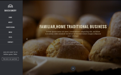Baiuca - Best Drupal restaurant theme