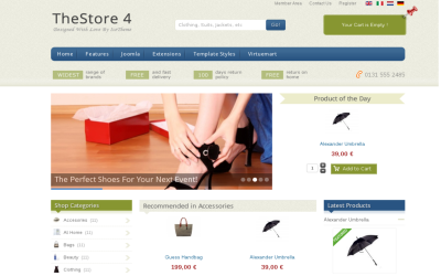 IT TheStore 4 - best joomla virtuemart template