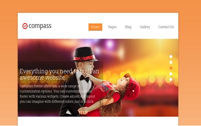 Compass - best business wordpress theme