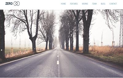 Zero - best business wordpress theme