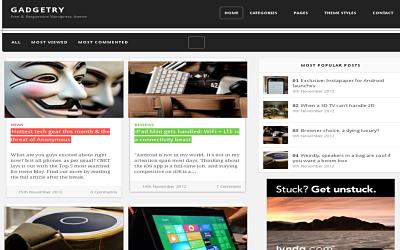 Gadgetry - best free wordpress theme