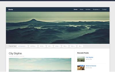 Meeta - download free wordpress theme