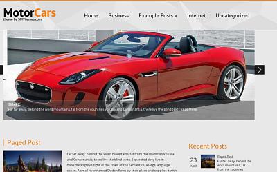 MotorCars - download free wordpress theme