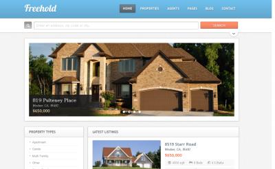 WP Pro Real Estate 2 - real estate wordpress theme