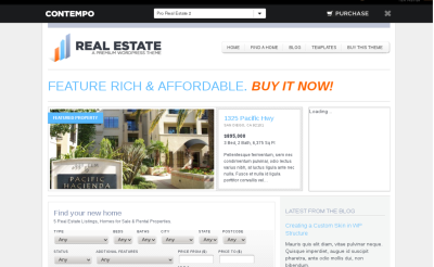 WP Pro Real Estate 2 - one of the best real estate wordpress themes
