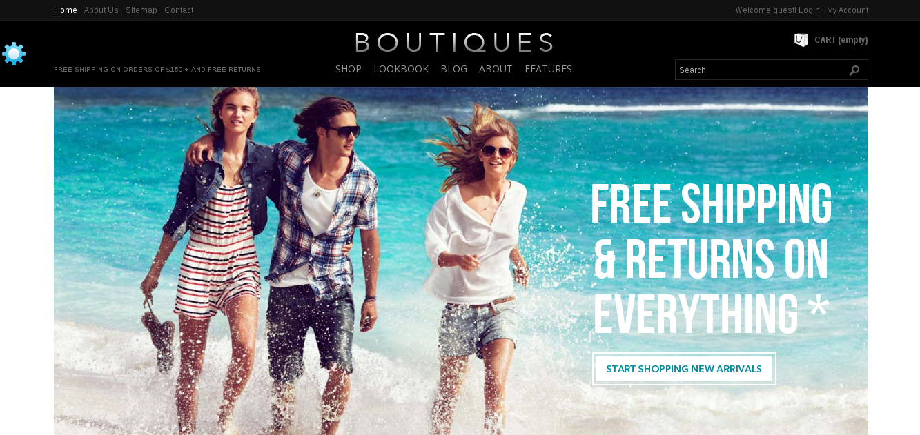 ET Boutique E-commerce PrestaShop Template