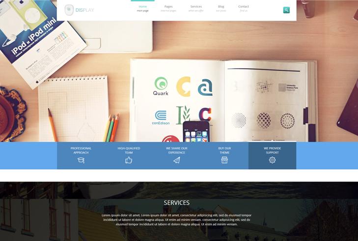 Display - Creative WordPress Theme - January 2014