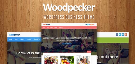 Woodpecker - professional WordPress theme - January 2014
