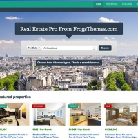 Wordpress Free Theme - Real Estate Pro