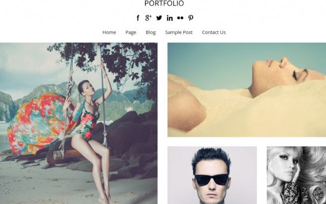Wordpress Theme: Portfolio