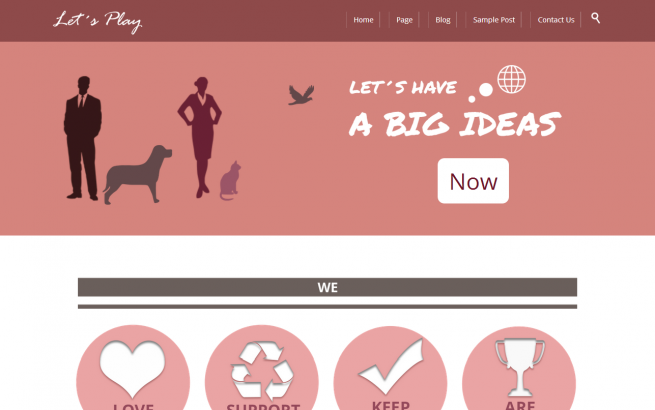 Wordpress Theme: Let