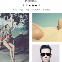 Wordpress Free Theme - Portfolio