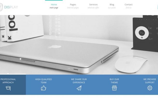 Wordpress Theme: Display