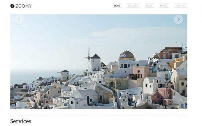 Wordpress Theme: Zoomy