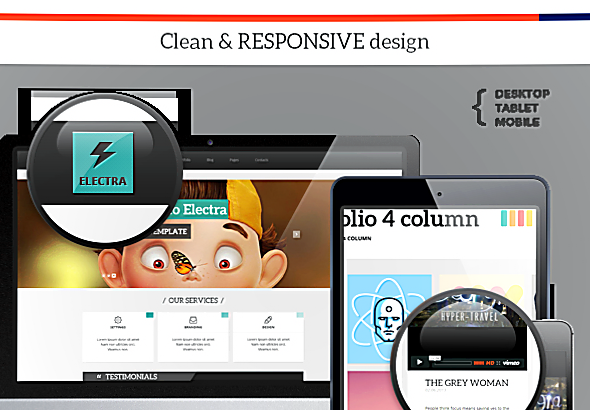 Wordpress Theme: Electra