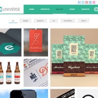 Wordpress Free Theme - UNIVERSE