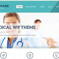 Wordpress Free Theme - Medpark