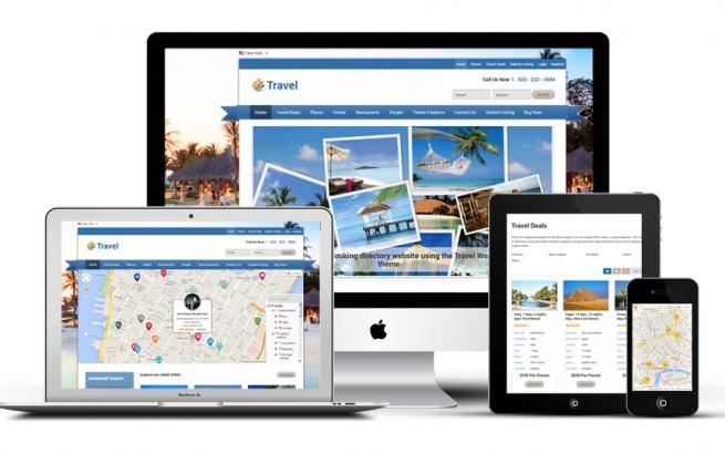 Wordpress Theme: Travel