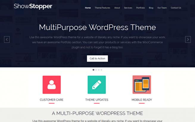 Wordpress Theme: ShowStopper