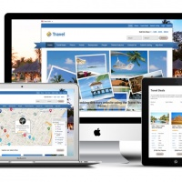 Wordpress Premium Theme - Travel