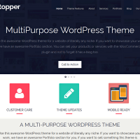 Wordpress Free Theme - ShowStopper