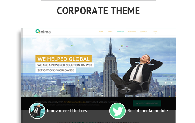 Wordpress Theme: Qnima