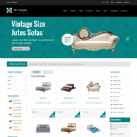 Wordpress Free Theme - Mj Simple - Responsive Woocommerce theme