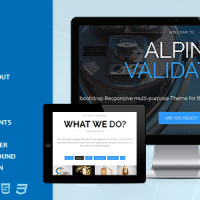 Bhavinpatel Joomla Template: Alpine - Responsive  one Page Joomla THeme