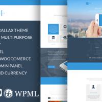 Bhavinpatel Wordpress Theme: CUbe+ - Onepage Wordpress theme